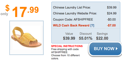 This includes tracking mentions of Chinese Laundry coupons on social media outlets like Twitter and Instagram, visiting blogs and forums related to Chinese Laundry products and services, and scouring top deal sites for the latest Chinese Laundry promo codes.
