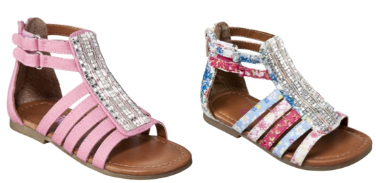Screen shot 2012 06 16 at 9.40.21 AM Target: Girls OshKosh Juanita Caged Sandal Assorted Colors Only $7.65 Shipped!
