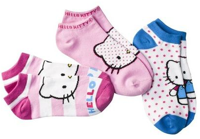 Screen shot 2012 06 22 at 8.34.54 AM *HOT* Target.com: Hello Kitty Socks Only $4.25 Shipped!