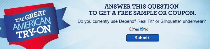 Depends for men coupons