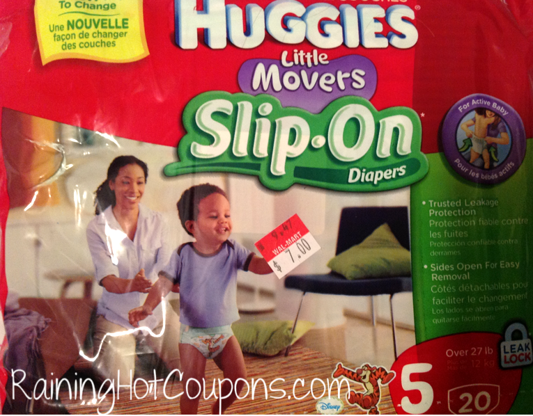 HOT* Walmart: Huggies Little Mover Slip On Diapers Packages Only ...