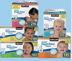 Screen shot 2012 06 29 at 12.27.32 PM FREE Kirkland Signature Supreme Diaper Sample
