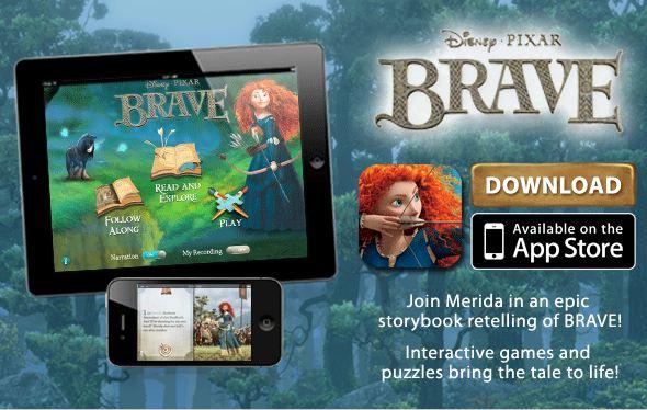 brave22 FREE Disney/Pixars Brave Storybook Deluxe App