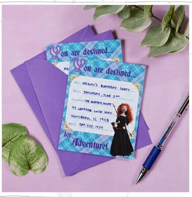 brave3 FREE Brave Party Invitations (Printable)