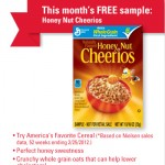 FREE Honey Nut Cheerios Sample (Betty Crocker Members – First 10,000!)