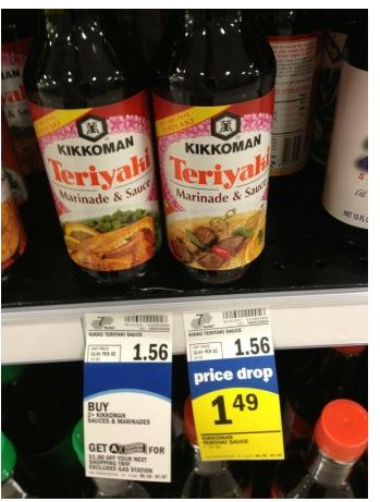 kikoman *HOT* Deal on Kikkoman at Meijer and Kroger only 24 cents each!