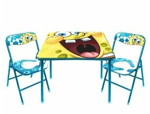 spongebobchair Amazon: Spongebob Childrens Table set $29.99 (Reg. $44.97) + FREE Shipping!