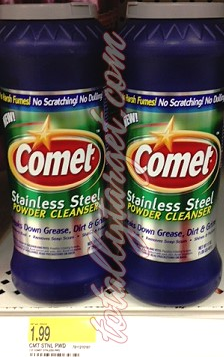 Screen shot 2012 07 01 at 8.27.22 PM RESET?! *HOT* FREE Comet Stainless Cleanser at Target with New Coupons!