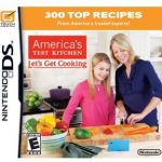 *HOT* Amazon: America's Test Kitchen: Let's Get Cooking Nintendo DS Game $3.49 Shipped (Reg. $20!)