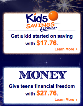 Screen shot 2012 07 03 at 12.01.53 PM *HOT* ING FREE Cash for Kids Accounts ENDS Today (Earn $27.76 AND $17.76 Instantly)