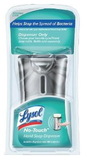 Screen shot 2012 07 03 at 8.52.34 AM Amazon: Lysol Healthy Touch Hand Soap Stainless Steel Look $2.99 Shipped!