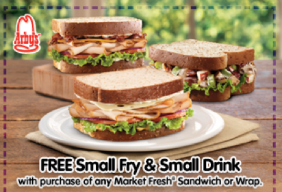 Screen shot 2012 07 03 at 9.41.49 PM Last Day! Arbys FREE Fries and Drink with Market Fresh Sandwich or Wrap Purchase Coupon