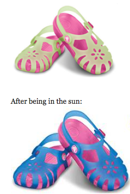 Screen shot 2012 07 05 at 8.44.52 AM *HOT* Crocs: Chameleons Shirley Shoes (Change Colors in Sun) Only $9.99 + FREE Shipping (Reg. $40!)