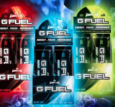 FREE G Fuel stick pack sample from Gamma Labs