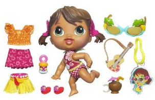 Screen shot 2012 07 08 at 11.58.22 AM Amazon: Baby Alive Crib Life Themed Collection   Luau Only $9 Shipped (Reg. $20!)