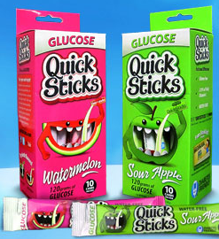Screen shot 2012 07 18 at 9.22.24 AM FREE Quick Stick Starter Kit   2 Glucose Sticks, Wrist Brand and Booklet!
