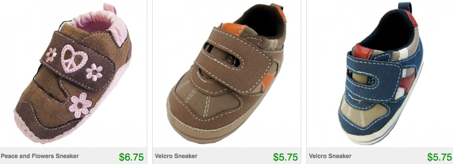 Screen shot 2012 07 21 at 6.28.45 PM *HOT* Infant Shoes Only $5.75 Shipped AND Huge Book Sale Just $1.75 Shipped!