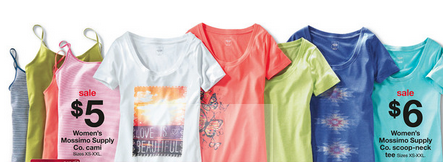 Screen shot 2012 07 22 at 10.37.32 AM *HOT* Target: Mossimo Cami or Tees as low as $2 Each!
