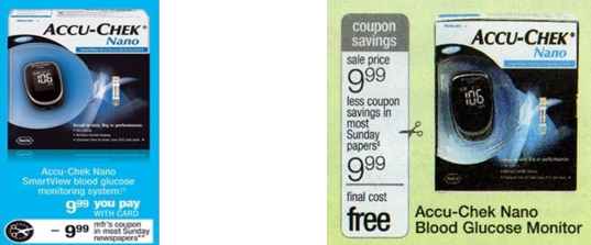 Screen shot 2012 07 28 at 4.59.03 PM High Value $10/1 Accu Check Glucose Monitor Coupon = FREE + Money Maker!