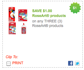 Screen shot 2012 07 30 at 1.02.13 PM *HOT* New $1/3 RoseArt Coupon = Lots of FREE School Supplies!