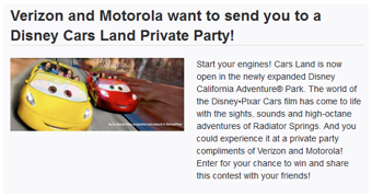 Screen shot 2012 07 30 at 2.43.39 PM Crowdtap: FREE Disneyland Cars Land Adventureland Vacation Package!?