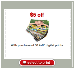 Screen shot 2012 08 12 at 11.41.26 AM Target: 50 FREE 4x6 Photo Prints with New $5 Printable Coupon!