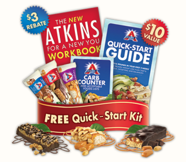 atkins Look What I got: 3 FREE Atkins Bars & More! GET YOURS TOO!