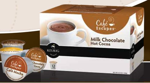 cafeescapes High Value $6/2 Cafe Escapes K Cups 12 Packs Coupon!