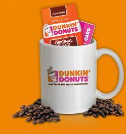 Dunkin Donuts Mug Up
