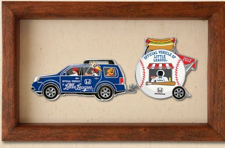 littleleague FREE: Little League Collectible Pin Set from Honda