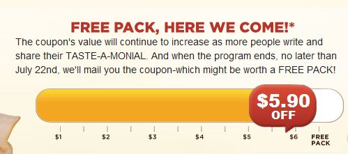 oscarmeyer2 UPDATE: Help Score a FREE Oscar Mayer Coupon (Currently at $5.90/1)