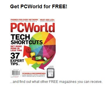 FREE PC World Subscription