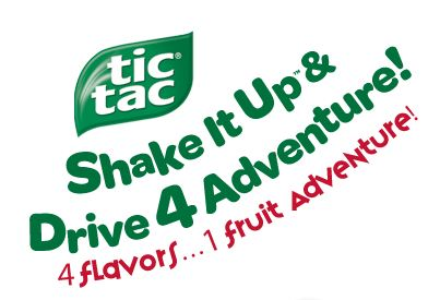 tic tac Tic Tac Shake It Up Sweepstakes and Instant Win Games!
