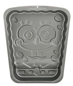 Screen shot 2012 08 10 at 11.41.35 AM Spongebob Squarepants Non Stick Aluminum Cake Pan Only $4.75 Shipped! (Reg. $20.00)