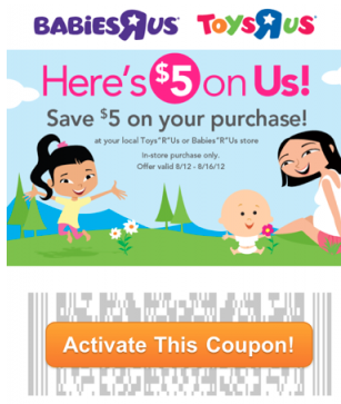 Screen shot 2012 08 12 at 3.17.47 PM *HOT* FREE $20 to Spend at Toys R Us or Babies R Us = FREE Toys and Baby Items! (New Links!)