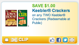 Screen shot 2012 08 13 at 6.46.52 PM High Value $1/2 Keebler Crackers Coupon = Just $0.75 a Box!