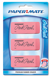 Screen shot 2012 08 13 at 8.50.49 AM FREE Paper Mate Pink Pearl Large Eraser 3 pack (After Cash Back!)