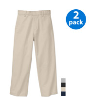 Uniform Pants $18.00 for two pairs Uniform polos $9.50 for two polos