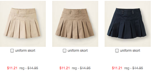 Uniform Polos starting at $7.28 Uniform Pants starting at $9.53
