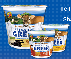 Screen shot 2012 08 17 at 4.57.46 PM FREE Brown Cow Cream Top Greek Yogurt Cup!