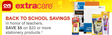 Screen shot 2012 08 21 at 12.34.13 PM CVS: $5 off Stationary Products purchase of $20 or More Coupon (Back to School Supplies?!)