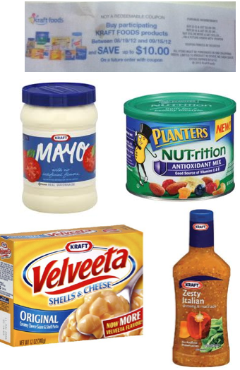 Screen shot 2012 08 24 at 3.20.59 PM *HOT!* FREE Kraft Mayo, Italian Dressing, Planters NUT rition and Velveeta Deal Plan + Make $2!