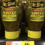 Walmart: Mt Olive Relish Only $0.21!