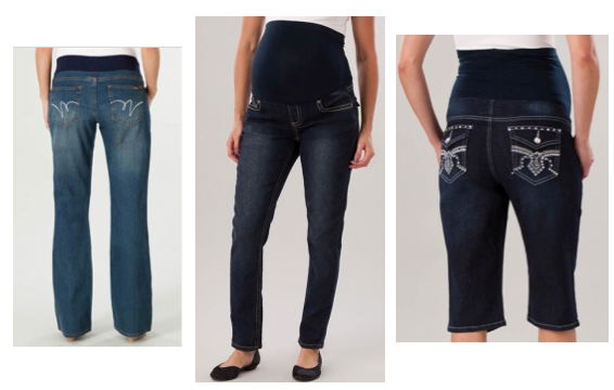 HOT* Maternity Pregnancy Jeans or Capri Shorts Only $20 Shipped ...
