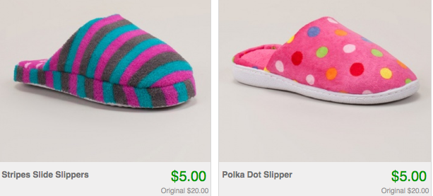 Screen shot 2012 08 29 at 5.30.02 PM Slippers Only $5.00 Shipped!