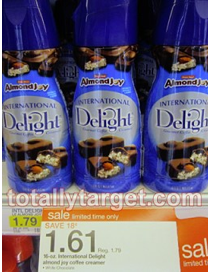 Screen shot 2012 09 18 at 10.02.11 AM *HOT* $1.50/1 Any International Delight Coffee Creamer Coupon = FREE at Target!