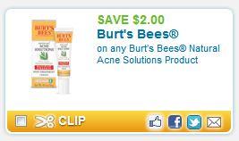 Burts Bees Coupons