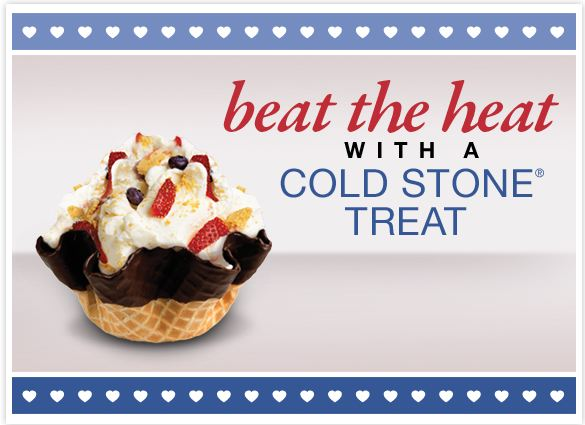 Cold stone creamery printable coupons october 2018