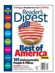 Readers Digest Subscription