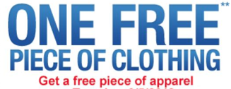 sears 2 FREE Apparel at Sears Outlet